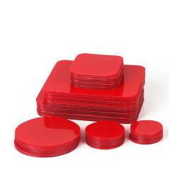Vhb personalizado o redondas o cuadradas de espuma EVA cinta adhesiva de doble cara