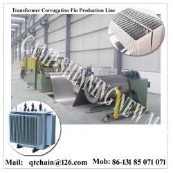 A linha de produção da chapa de papelão ondulado/máquina formadora da Chapa de Papelão Ondulado/ transformador de linha de produção do painel do radiador