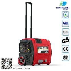 2kW Luftkühlung Benzin Wechselrichter Silent Digital Camping Tragbarer Generator