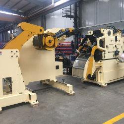Le redressage de déroulement de l'alimentation de la machine pour métal chargeur Decoiler lisseur nc