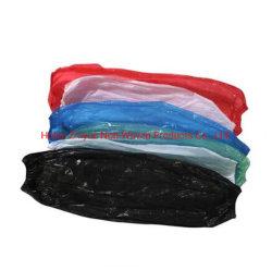 China Factory Fornecimento Directo Alimentação Saudável Ensurance de alta qualidade nos mercados globais das mangas de PE de plástico descartáveis ou manguito tricotado tampa tampa da luva elástica