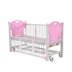 2つの機能手動病院の子供のベッド