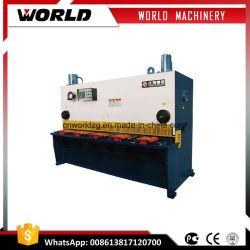 La guillotine hydraulique de type feuille de métal de la machine de cisaillement de coupe