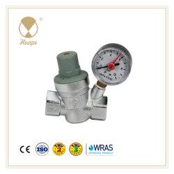Heape Válvula Redutora de Pressão da Água de latão com o medidor para canalização