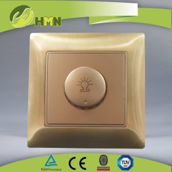 Ce/TUV/BV Zinc Métal standard européen, certifié Gold gradateur de lumière 500W