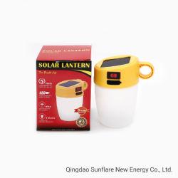 2020 Lámpara de ahorro de energía verde alto brillo con protección IP65 de la luz de linterna LED Solar