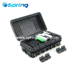 Haute qualité câble 16-72 Core FTTH en fibre optique fermeture mixte boîte à bornes