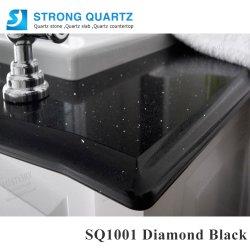 Miroir Surface noire et de granit / ressemble en marbre pierre Quartz pour comptoir de cuisine / travail / Banc / Vanity / Salle de bains haut de page