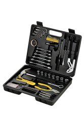 52PCS 휴대용 상자 도구 수리 서비스 가정용 도구 세트