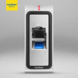 Fr-W1 полностью металлический водонепроницаемый программное обеспечение контроля доступа RFID считыватель отпечатков пальцев