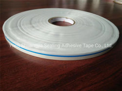 HDPE кремния с покрытием двухсторонний герметизирующую ленту для OPP пакет печатных синяя линия