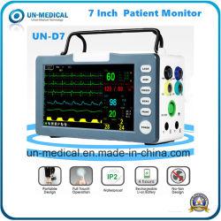 ECG portáteis a PNI SpO2 Pulse Rate Monitor de Paciente em situações de emergência