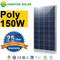 30 年以上の長寿命ソーラーパネル 150wp 以上の揚子江 ルーフトップシステム用ポリシリコンソーラー PV モジュール