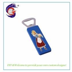 Neuer Verkauf vorzüglicher PVC-Kühlraum-Magnet-Flaschen-Öffner