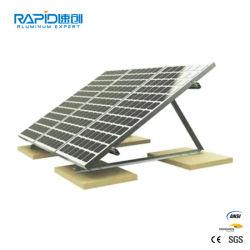 Montaggio della struttura di sistema della parentesi della guida del comitato solare da vendere