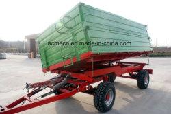 4 rimorchi agricoli del deposito del trattore agricolo della rotella da vendere