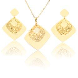 Galvaniseer & Vierkante Gouden & Gematteerde Gouden vormt Hol van de Elektroforese uit de Reeks van Juwelen