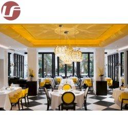 Personalizzazione moderna sedia in legno metallo/tessuto/pelle con mobili da tavolo Per il Ristorante dell'hotel, Sala da pranzo, Bar Cafe