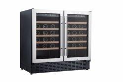 Ce ETL готов 190 л бок о бок с двумя зоны холодильник для вина