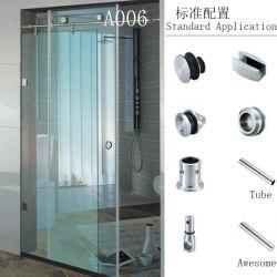 Frameloze doucheaccessoires voor doucheruimte als standaardtoepassing