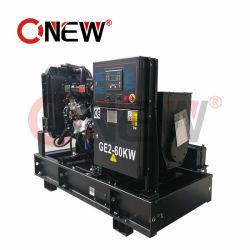 Abra o Gerador utilizado OEM arrefecidos a água motor Isuzu 37,5kv/37,5kVA/30KW de potência eléctrica Diesel 1 fase com estrutura aberta para a criação de lista de preços geradores a diesel de escritório