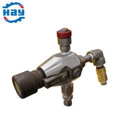 20000 psi/1400bar montado numa base na Válvula de Corte Pressure-Adjustable