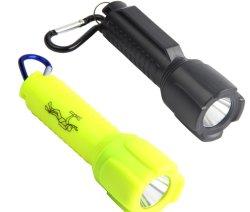 プラスチックキャンプの緊急の懐中電灯の電池小型LEDのトーチ