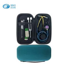 Fácil de transportar EVA instrumento médico caso estetoscopio y estuche de viaje