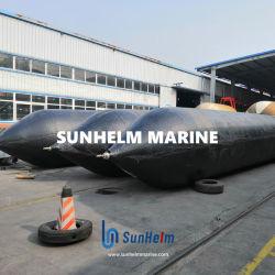 Barco de goma el lanzamiento de airbag de Marina, Marina de globos de aire, inflable Bolsa de rodillos para el depósito de acarreo y tire a la orilla, Salvamento y levantar objetos pesados