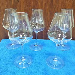 Grosses Bauch-Zitrone-Trinkwasser-Flascheins-Weinglas-Kristallglas-Snow White Kremeis-Torte-Saft-Cup-Rotwein-Glas