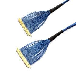 Шэньчжэнь Sino-Media Ipex Micro коаксиальный кабель Lvds 40контакт для системной платы Mini ITX ЖК монитор