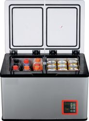 투도어 DC 12V 압축기 소형 야영 휴대용 차 냉장고 냉장고