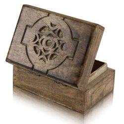 خشبيّة يعبر صندوق هبة وحرفة غلّة كرم [جفت بوإكس] تقليد