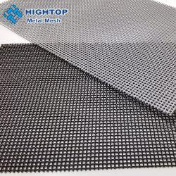 El polvo, resistente al agua 120 a 220 micras de la seguridad de malla de acero inoxidable pantalla mosca para la ventana