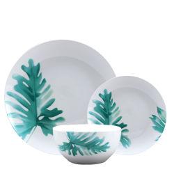 Vastgestelde Steengoed van het Diner van het Vaatwerk van de Verkoop 16PCS van de luxe het Fijne Hete Ceramische