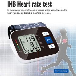 ZK-B876 CE BP Machine قابلة لإعادة الشحن Wireless 24 ساعة في التحدث مع الطوق الدليل الطبي المحمول مراقبة ضغط الدم بالذراع العليا