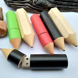 Mini USB-карту памяти Memory Stick диск 4 ГБ 8 ГБ 16ГБ 32ГБ деревянной ручкой пера USB дисков