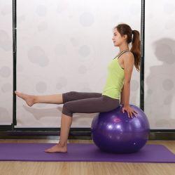 Antidérapant Anti-Burst Salle de Gym Sports de l'exercice de la méthode Pilates Boule d'équilibrage des billes de Yoga en PVC