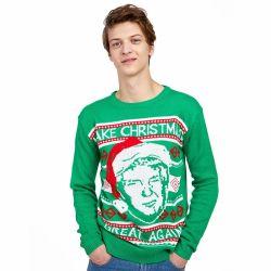 2019 Nuevo Diseño más reciente de la calidad de la llegada de los hombres personalizados Unisex horrible suéter de Navidad