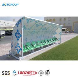 Футболист может заменить стенде для использования вне помещений, футбол спортивные скамейки