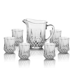 [7بكس] يشرب آنية زجاجيّة إبريق محدّد زجاجيّة مع فنجان أداة مائدة مجموعة