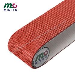 PVC/PU/PVK ناقل صناعي خفيف/حزام ناقل حركة/حزام سير مع نمط الحبوب العشبية