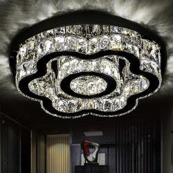 مصابيح سقف بندول حديثة LED ثريا كريستالية مصابيح معلقة التجهيزات الخاصة بمصباح السقف في غرفة المعيشة المزود بسلك