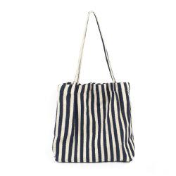 حقيبة أنيقة من القطن الناعم للنساء في حقيبة اليد