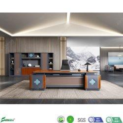 Moderno Mobiliario de oficina, Gerente General de la madera Mesa de ordenador de escritorio Escritorio Gerente Ejecutivo
