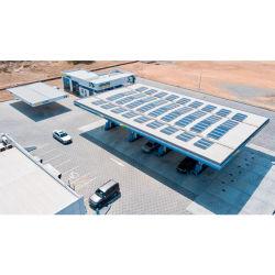 Railless 지붕 설치 시스템 소형 가로장 태양 벽돌쌓기 시스템