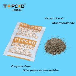 Matériel de métal Anti-Rust industriel de la montmorillonite l'argile bentonite avec Tyvek papier de dessiccant