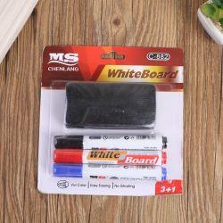 3PK 화이트보드 마커 펜(브러시 편지지 세트 Office 소모품 포함 학교