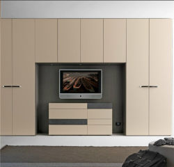 Desおよびワードローブデザインの2012年の引き戸のベッド