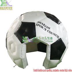 新しい設計フットボールの形のキャンプの空気ホテル igloo のテント屈折可能 ドーム型ドーム型ドーム型のドーム型のセール